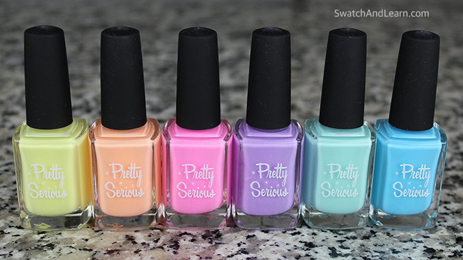 Pretty Serious Cosmetics Pastel Pet Names Collection