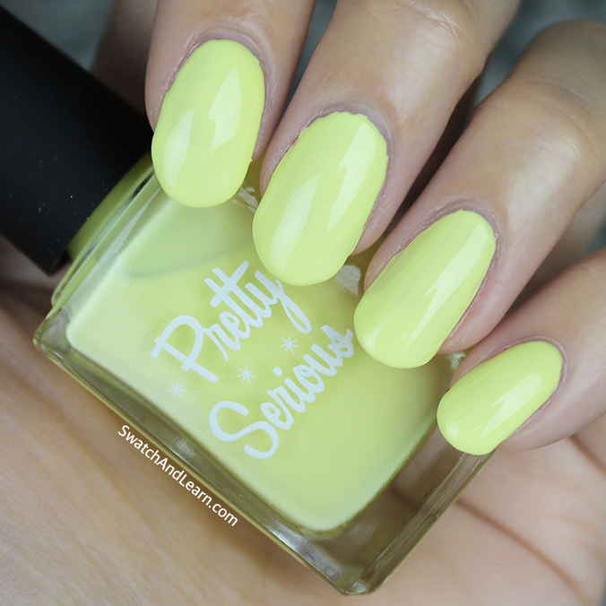 Pretty Serious Little Duckling Swatch Pastel Pet Names Collection Swatches