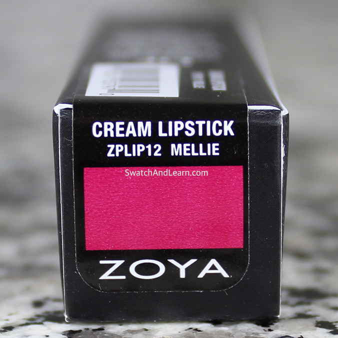 Zoya Mellie Lipstick Review