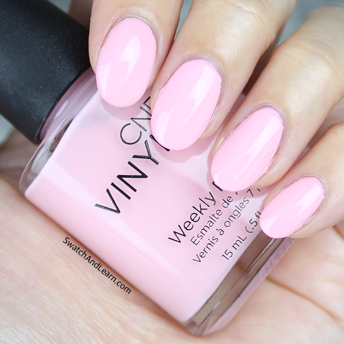 CND Vinylux Be Demure Swatch