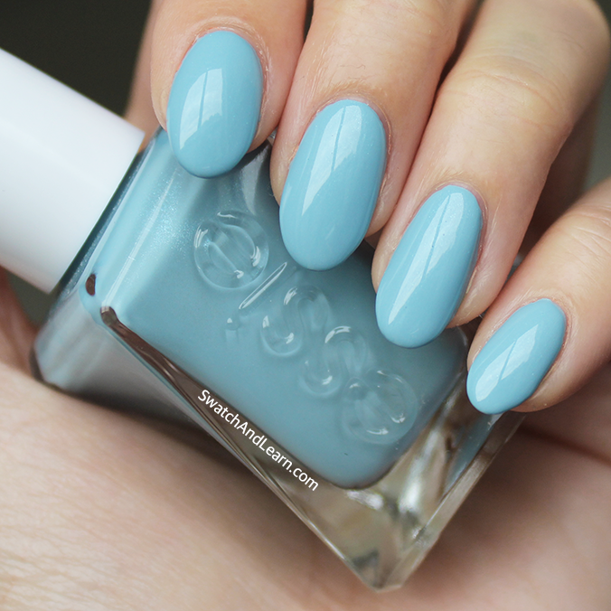 Essie First View Swatch Review Gel Couture