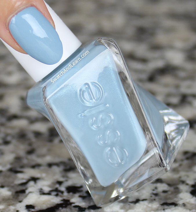 Essie Gel Couture First View Review Swatch