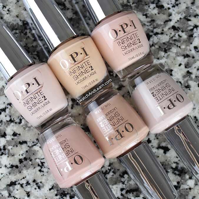 OPI Infinite Shine Nudes Collection