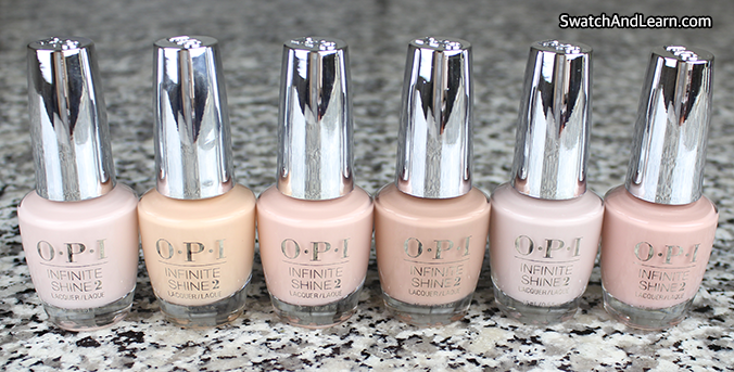 OPI Infinite Shine Nudes