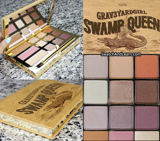 Tarte Grav3yardgirl Swamp Queen Palette Review