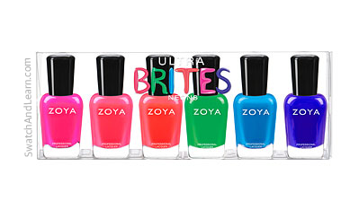 Zoya Ultra Brites Collection 2016