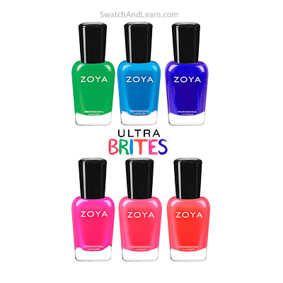 Zoya Ultra Brites Collection