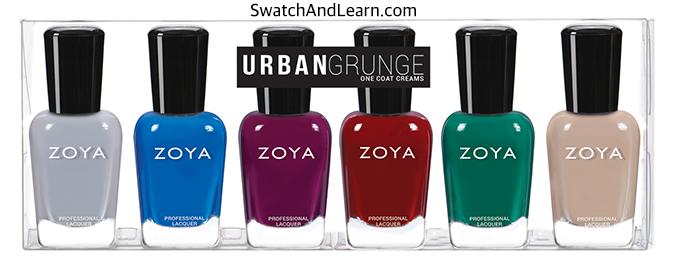 Zoya Urban Grunge Collection One Coat Creams