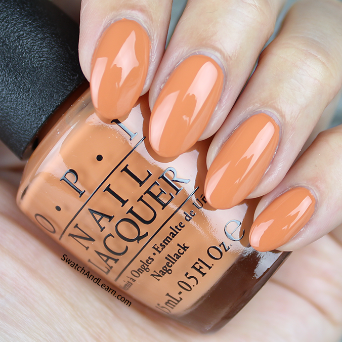 OPI Freedom of Peach Swatch Washington DC Collection Swatches