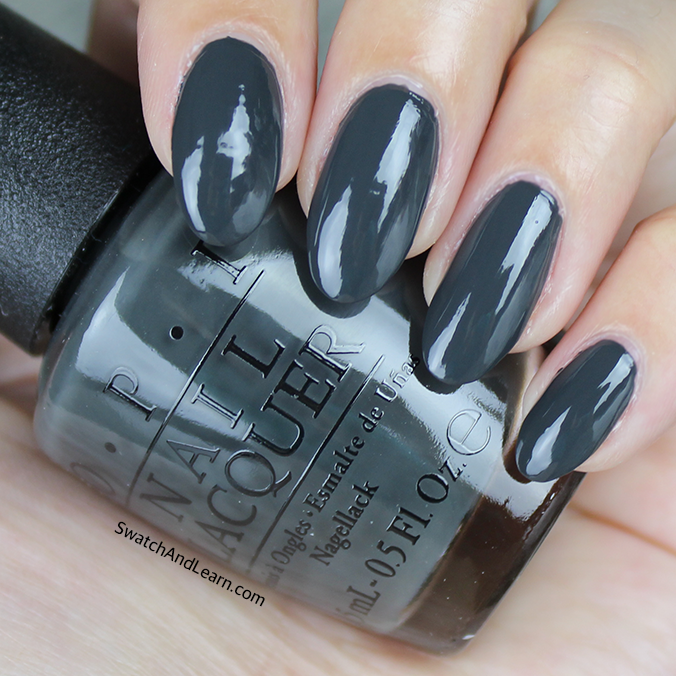 OPI Liv in the Gray Swatch Washington DC Collection Swatches