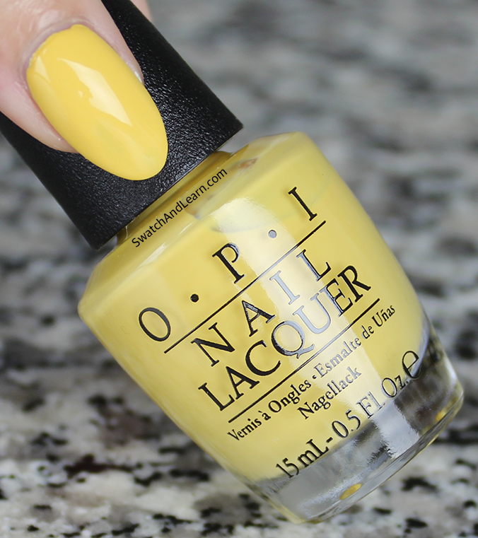 OPI Never a Dulles Moment Swatch Washington DC Collection Swatch