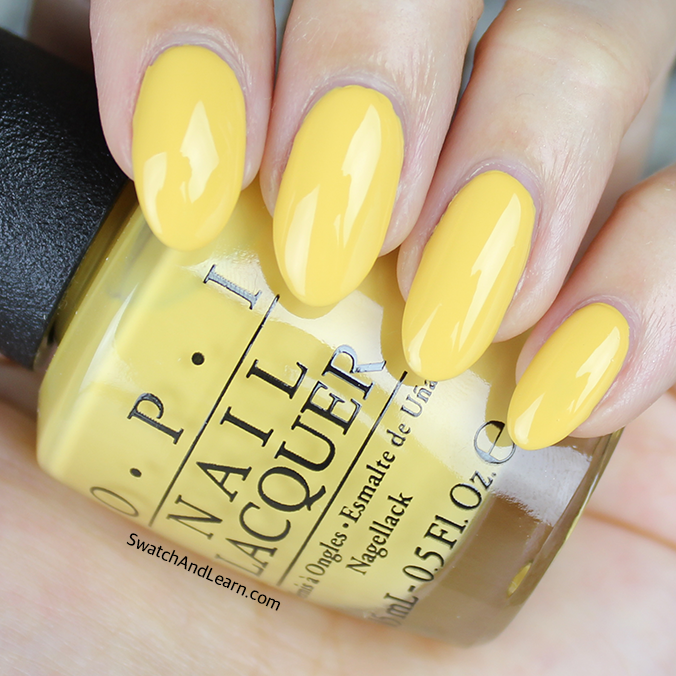 OPI Never a Dulles Moment Swatches Review