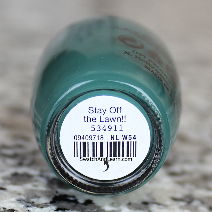 OPI Stay Off the Lawn Review