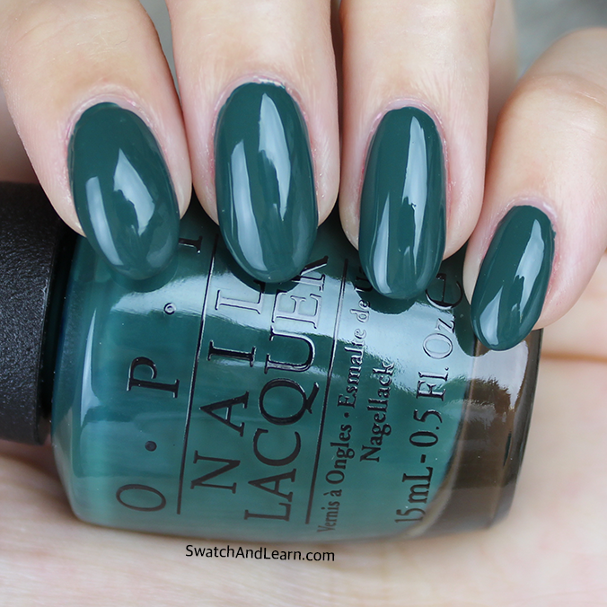OPI Stay Off the Lawn Swatch Review