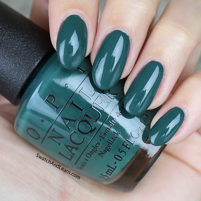 OPI Stay Off the Lawn Swatches Review