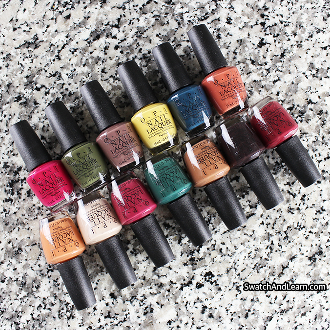 OPI Washington DC Collection Review