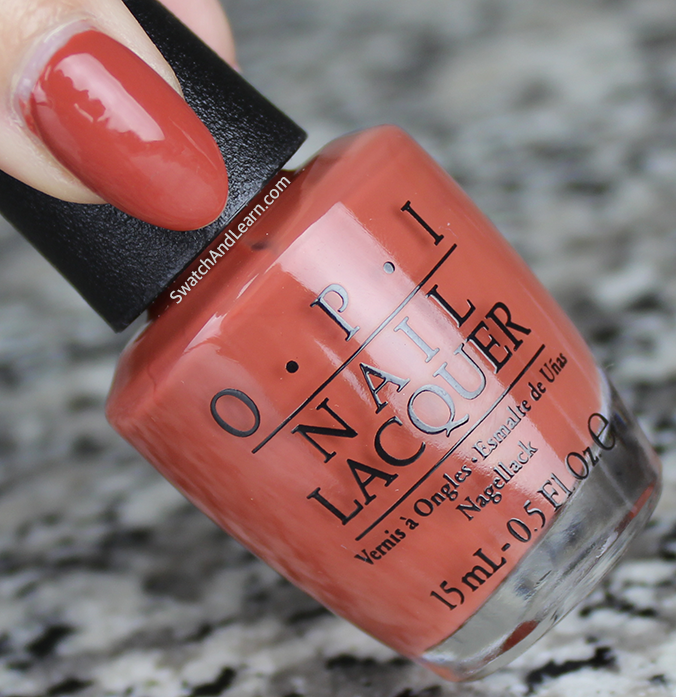 OPI Yank My Doodle Review Swatch