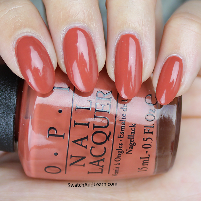 OPI Yank My Doodle Swatch Review
