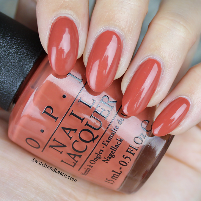 OPI Yank My Doodle Swatches Review