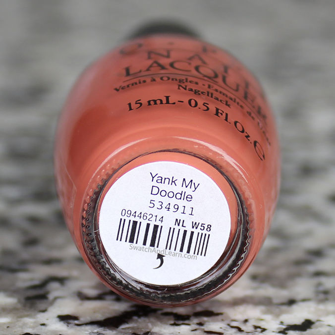 OPI Yank My Doodle Washington DC Collection