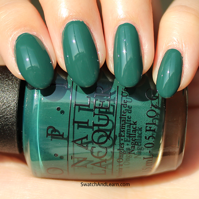 Stay Off the Lawn OPI Swatch Review