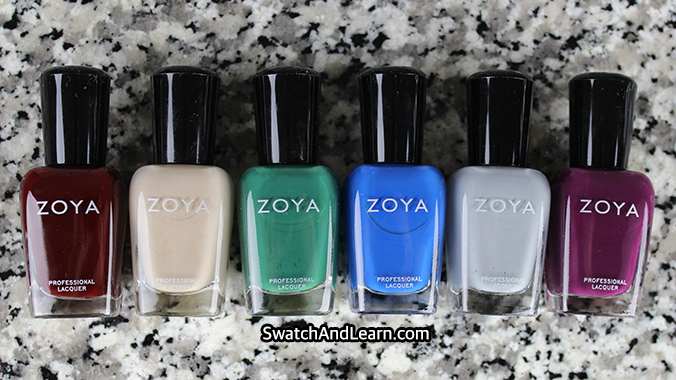 Zoya Grunge Collection One Coat Creams