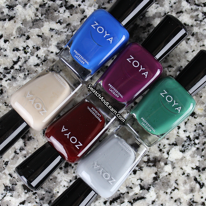 Zoya One Coat Creams Grunge Collection