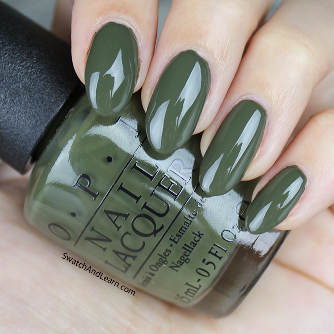 OPI Suzi The First Lady of Nails Swatch Review