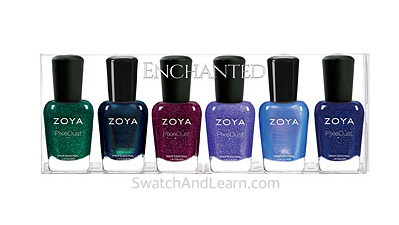 Zoya Enchanted Collection Winter Holiday 2016