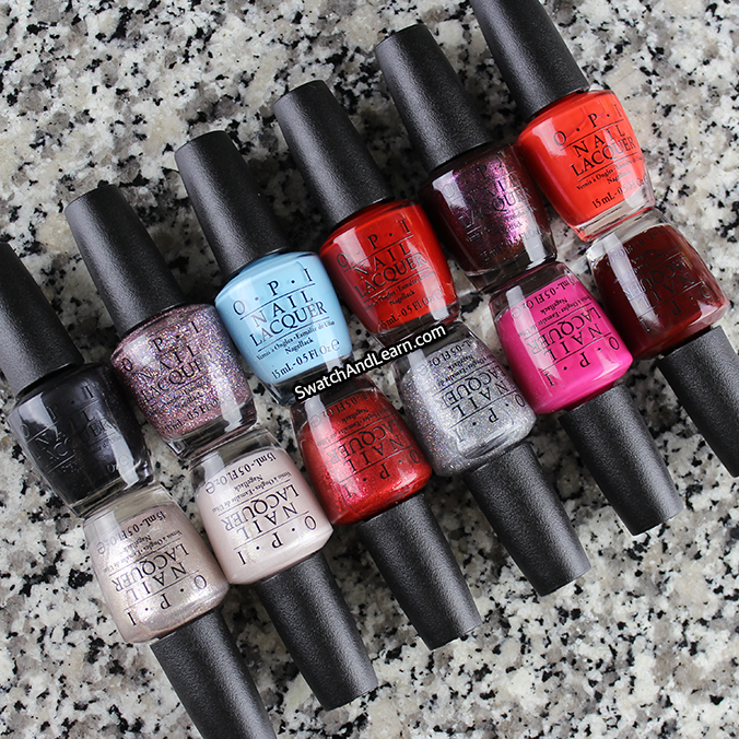 OPI Breakfast at Tiffany's Collection 2016