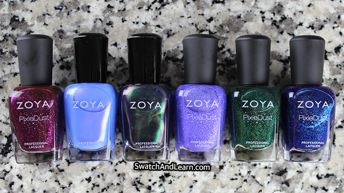 Zoya Nail Polish Enchanted Collection
