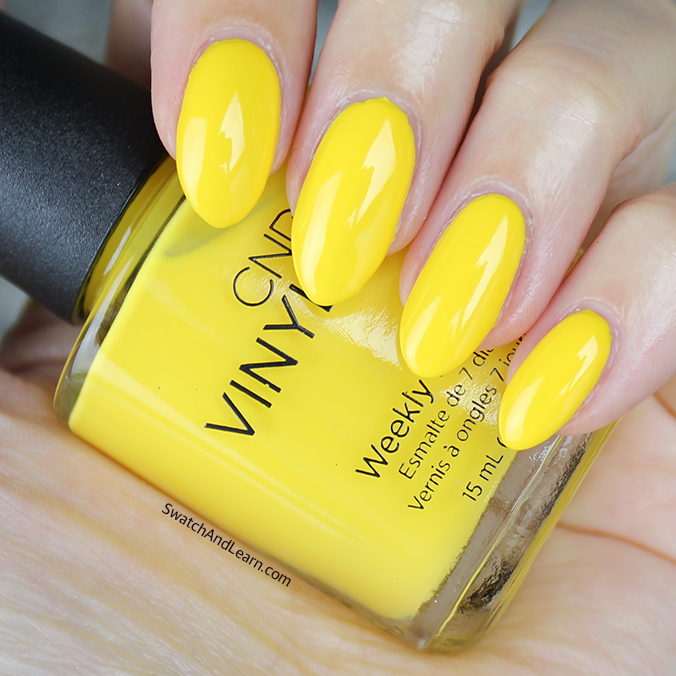 CND Banana Clips Swatch CND New Wave Collection Swatches