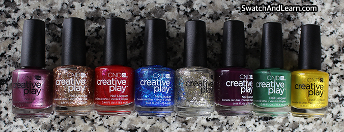 CND Creative Play Celebration Collection 2016
