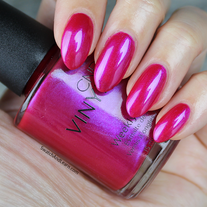CND Ecstacy Swatch CND New Wave Collection Swatches
