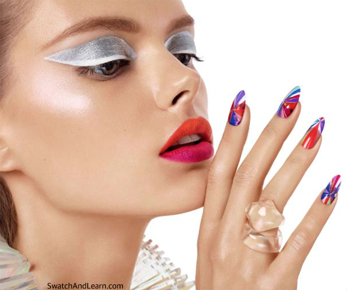 CND New Wave Collection Nail Art Nails