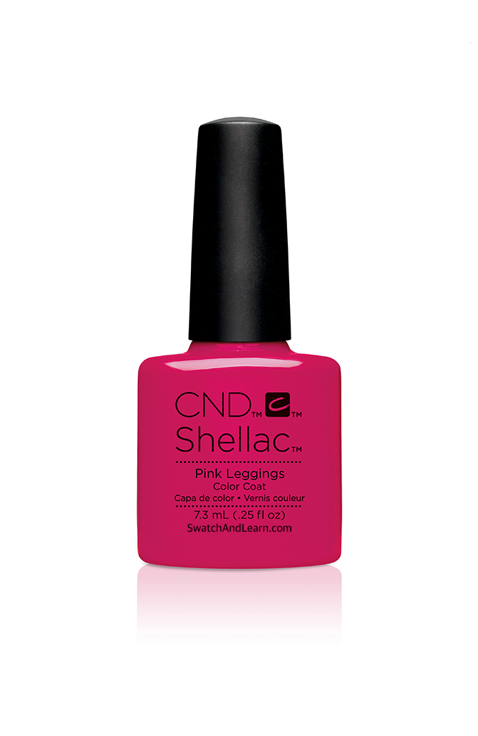 CND Shellac New Wave Collection Pink Leggings