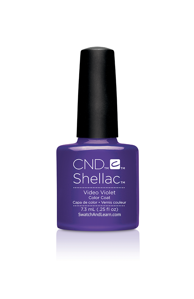 CND Shellac New Wave Collection Video Violet