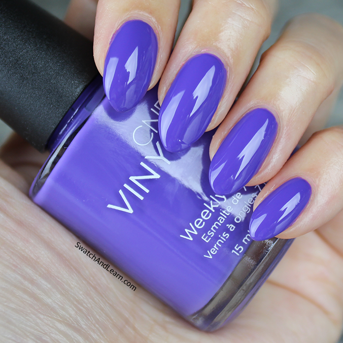 CND Video Violet Swatch CND New Wave Collection Swatches