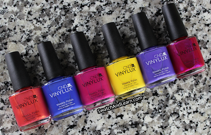 CND Vinylux New Wave Collection Review