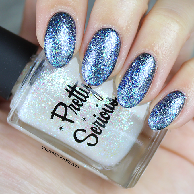 Pretty Serious Jack Frost Swatch Pretty Serious Ghosts of Christmas Past Collection Swatches