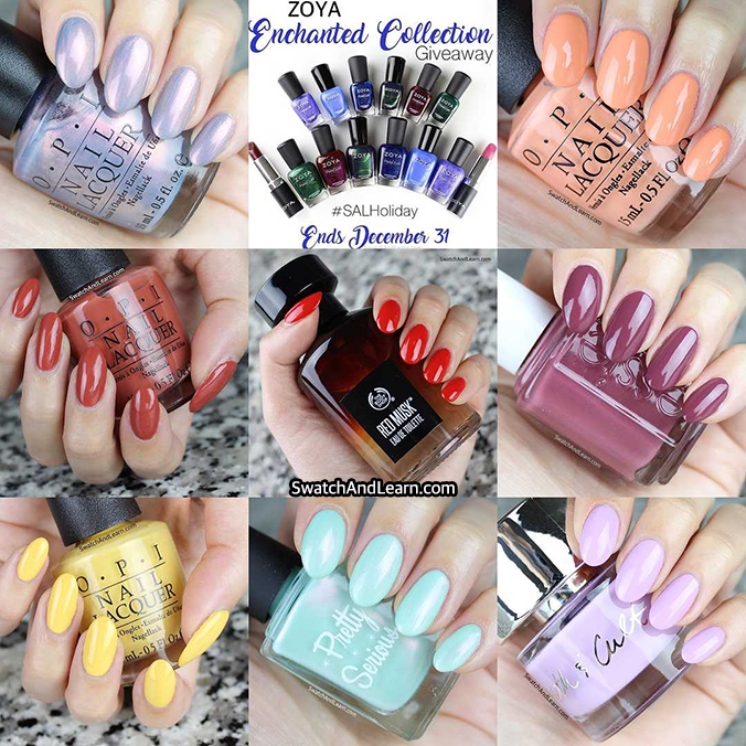 Swatch And Learn Best Nine 2016
