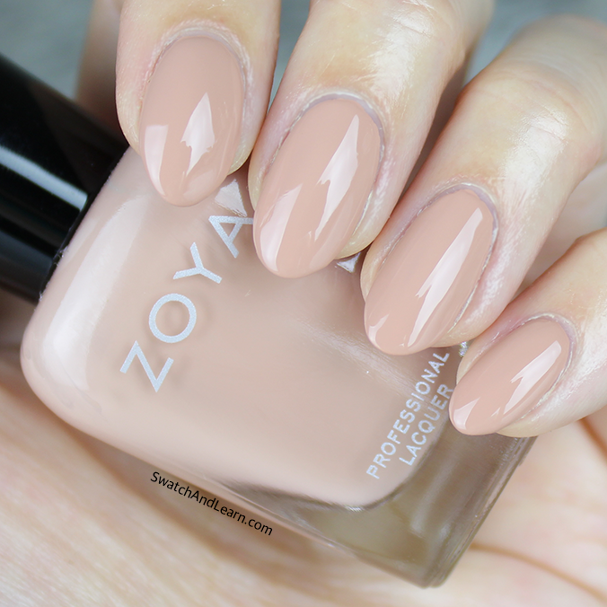 Zoya Cathy Swatch Zoya Naturel 3 Collection Swatches