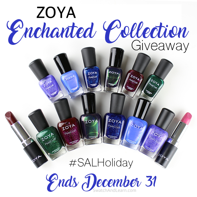 Zoya Enchanted Collection Giveaway