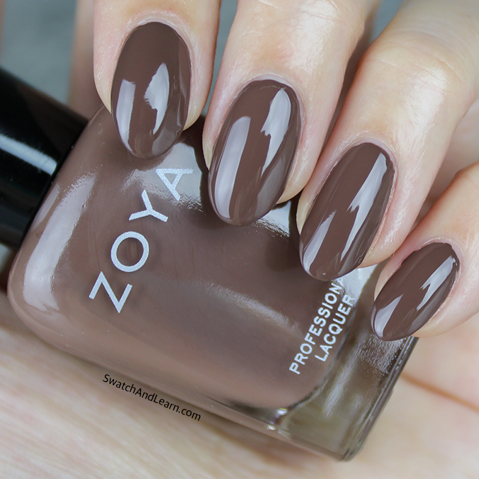 Zoya Gina Swatch Zoya Naturel 3 Collection Swatches