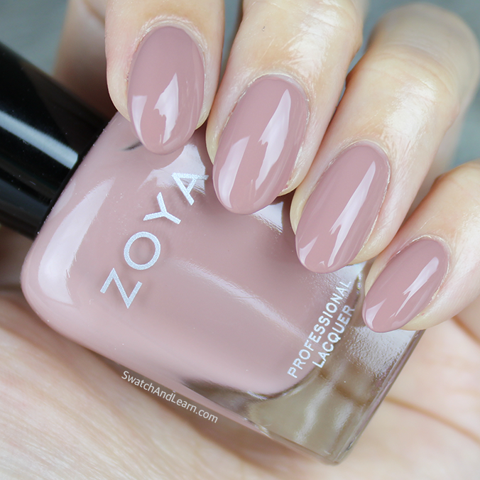 Zoya Jill Swatch Zoya Naturel 3 Collection Swatches