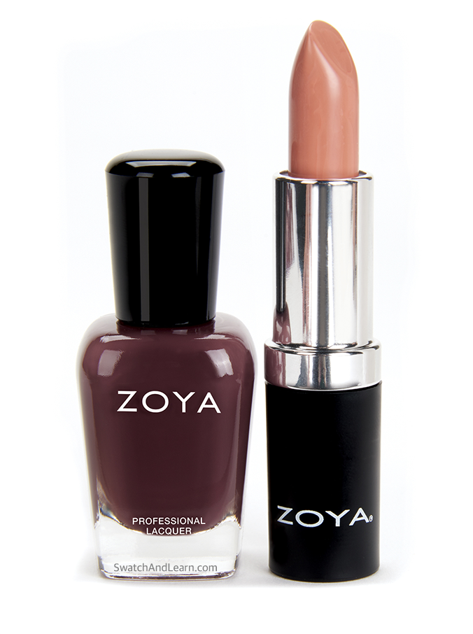 Zoya Naturel 3 Collection (Nail Polish: Zoya Debbie & Lipstick: Zoya Cameron)