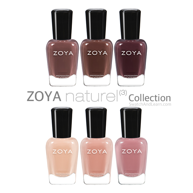 Zoya Naturel 3 Collection Pictures