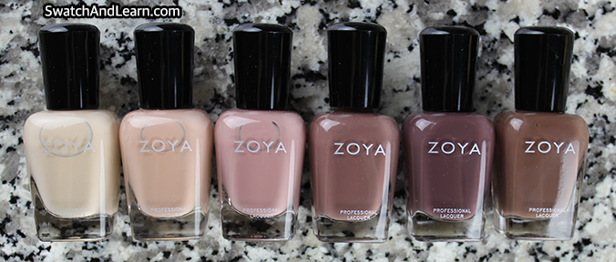 Zoya Naturel 3 Collection Review