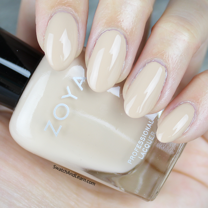 Zoya Tatum Swatch Zoya Naturel 3 Collection Swatches