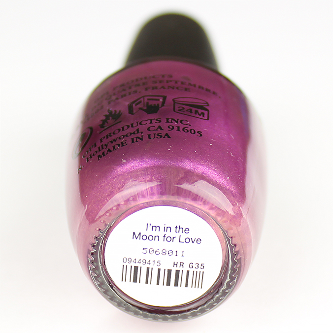I'm in the Moon for Love OPI Starlight Collection